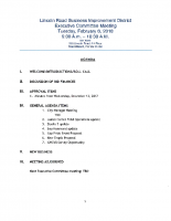 02-06-2018 Executive Committee Meeting Agenda