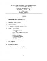 2-6-18 Executive Committee Meeting Agenda