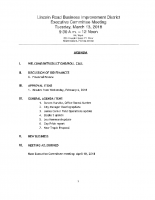 3-13-18 Executive Committee Meeting Agenda