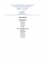 4-19-18 BID Board Committee Meeting Minutes