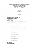 4-19-18 Board Meeting Agenda