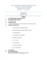 5-10-18 Executive Committee Meeting Agenda