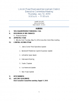 7-12-18 Executive Committee Meeting Agenda
