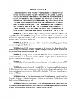 October 9, 2018, LRBID Resolution – Support 2018 Amendment 2[3]