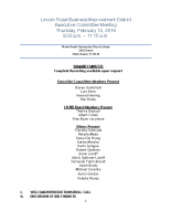 February 14, 2019, Minutes 2-14-19 Executive Committee Meeting
