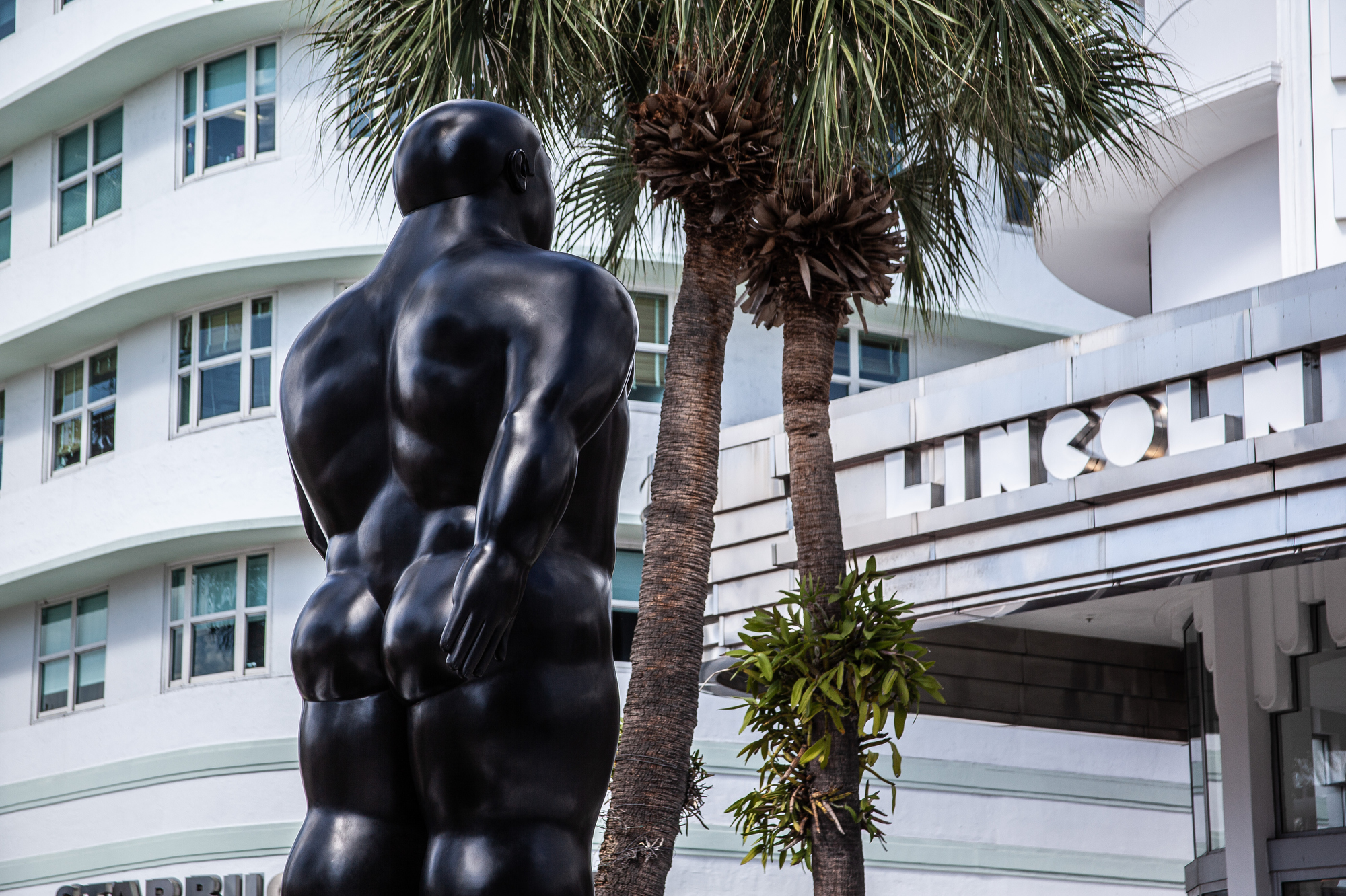 BOTERO Sculpture on Lincoln Road Miami Beach FL